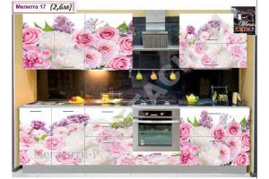 Кухня Мелитта 17 - Мебельная фабрика «Мега Сити-Р»