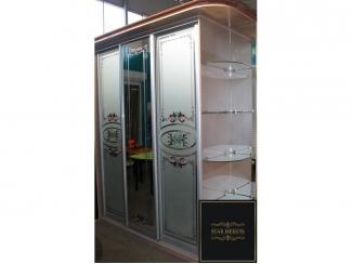 Шкаф-купе с матовыми стеклами - Мебельная фабрика «STAR мебель»
