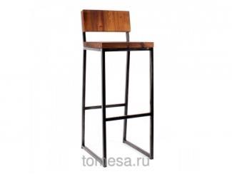 Барный стул Квадро со спинкой  - Мебельная фабрика «Томеса», г. Самара