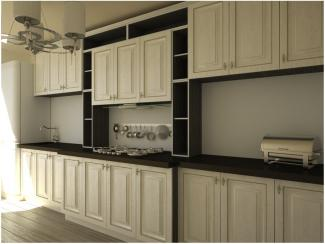 Кухня прямая Италия 2 патина - Мебельная фабрика «Вариант М»
