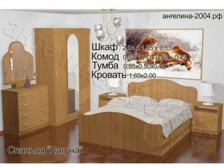Спальный гарнитур Лагуна - Мебельная фабрика «Ангелина-2004»