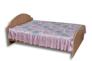 Кровать двойная с кантом - Мебельная фабрика «ЛТиК»
