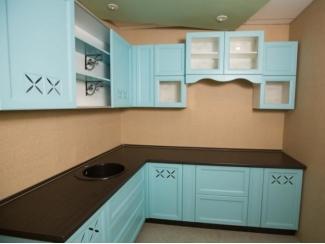 Кухня из массива бука с филенкой шпон 2 - Мебельная фабрика «Леспром»