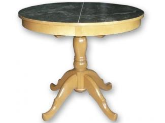 Стол обеденный фрезерованный круглый  - Мебельная фабрика «Уют», г. Ульяновск