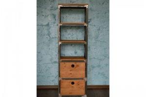 Стеллаж библиотека мини Винченто - Мебельная фабрика «Loft Zona»