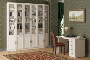 Библиотека МС-2 Оливия - Мебельная фабрика «Олмеко»