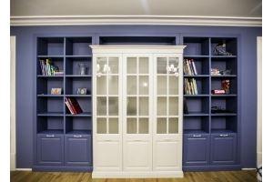 Стенка встроенная Библиотека - Мебельная фабрика «Молчанов»