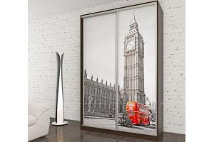 Шкаф-купе с фотопечатью Биг Бен - Мебельная фабрика «Мебель Поволжья»