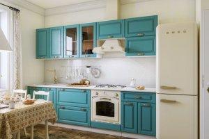 Кухня Бирюза - Мебельная фабрика «CALPE»