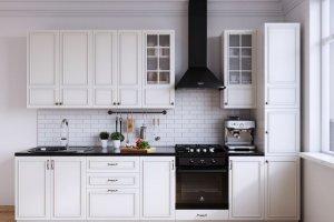 Кухня Бланко белая - Мебельная фабрика «CALPE»