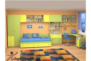 Большая детская ЛДСП Донателло - Мебельная фабрика «Меркурий»