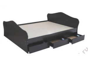 Большая кровать с ящиками К-16 - Мебельная фабрика «Ромис», г. Краснодар