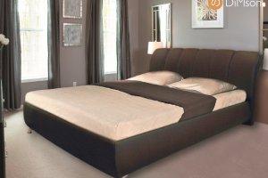 Большая кровать в спальню Ривьера - Мебельная фабрика «DiMSon»