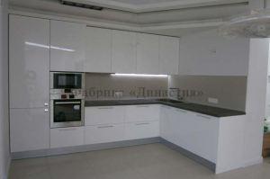 Большая кухня белый глянец - Мебельная фабрика «Династия»
