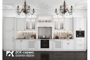 Большая кухня из массива - Мебельная фабрика «ДОК-Сервис»