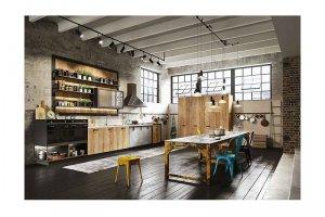 Большая кухня Лофт - Мебельная фабрика «КухниДар»