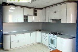 Большая кухня Модель 4 - Мебельная фабрика «Дэрия»