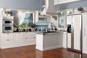 Большая кухня с островом Мишель матовая - Мебельная фабрика «Энгельсская (Эмфа)»