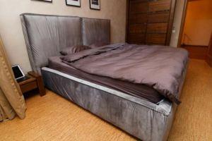 Большая мягкая кровать - Изготовление мебели на заказ «Furniture Design»