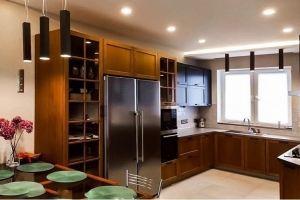 Большая П-образная кухня - Мебельная фабрика «Массив»