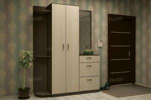 Большая прихожая ЛДСП Анастасия - Мебельная фабрика «НАРУС»