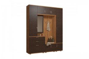 Большая прихожая ЛДСП Неаполь 3 - Мебельная фабрика «Балтика мебель»