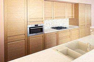 Большая прямая Кухня 017 - Мебельная фабрика «Ре-Форма»