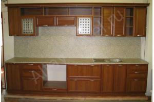 Большая прямая кухня - Мебельная фабрика «Алтай-Командор»