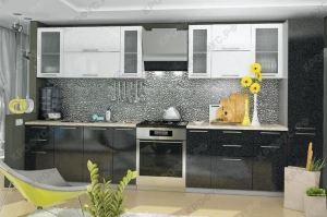 Большая прямая кухня - Мебельная фабрика «КРОФУС»