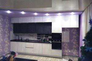 Большая прямая кухня - Мебельная фабрика «ДЖАЗ»