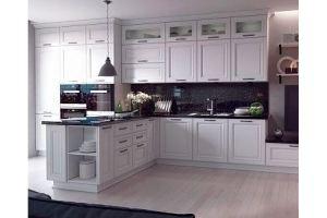 Большая прямая кухня Арона - Мебельная фабрика «Кухни Премьер»