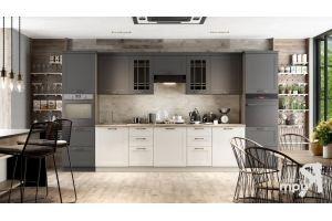Большая прямая кухня Одри - Мебельная фабрика «ТриЯ»