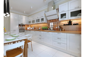 Большая светлая кухня - Мебельная фабрика «ARTOKEAN»