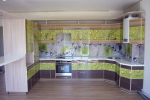 Большая угловая кухня - Мебельная фабрика «Галант»
