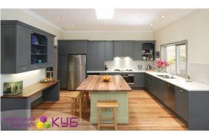 Большая угловая кухня - Мебельная фабрика «КУБ»