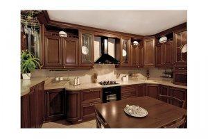 Большая угловая кухня АСАГРА - Мебельная фабрика «КухниДар»