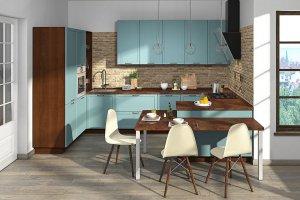 Большая угловая кухня Глория - Мебельная фабрика «Кухни MIXX»