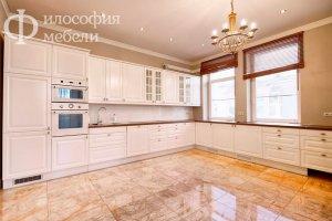 Большая угловая кухня КУХНЯ №24 - Мебельная фабрика «Философия мебели»