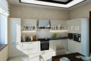 Большая угловая кухня Largo - Мебельная фабрика «Энгельсская (Эмфа)»