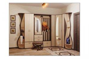 Большая угловая прихожая - Мебельная фабрика «Натали»