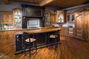 Большая Винтажная кухня - Мебельная фабрика «ДиВа мебель»