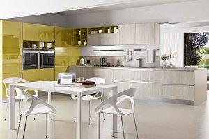 Большая вместительная кухня - Мебельная фабрика «SaEn»