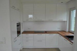 Большая вместительная П-образная кухня - Мебельная фабрика «Ваша мебель»