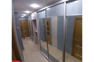 Большая зеркальная прихожая - Мебельная фабрика «ЦЕНТР МЕБЕЛИ»