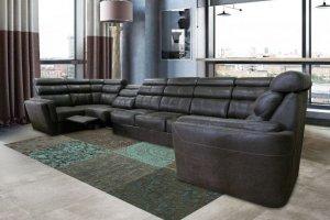 Большой диван-реклайнер Монреаль - Мебельная фабрика «Премиум Софа»