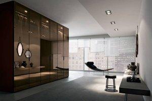 Большой глянцевый шкаф - Мебельная фабрика «NIKA premium»