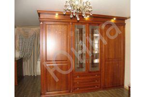 Большой классический шкаф в гостиную - Мебельная фабрика «ЮННА»