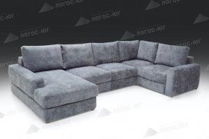 Большой модульный диван Фламинго 7 - Мебельная фабрика «Логос-юг»