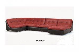 Большой модульный диван Министр - Мебельная фабрика «КонсулЪ»