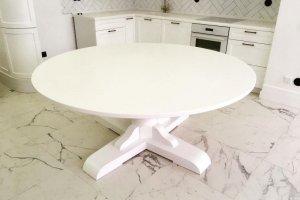 Большой обеденный стол из массива - Мебельная фабрика «Массив»